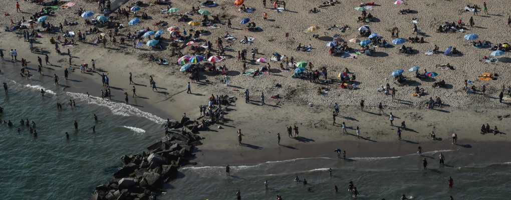 Coney Island, Brooklyn with the NYPD Aviation Unit. Michael Appleton/Mayoral Photography Office
