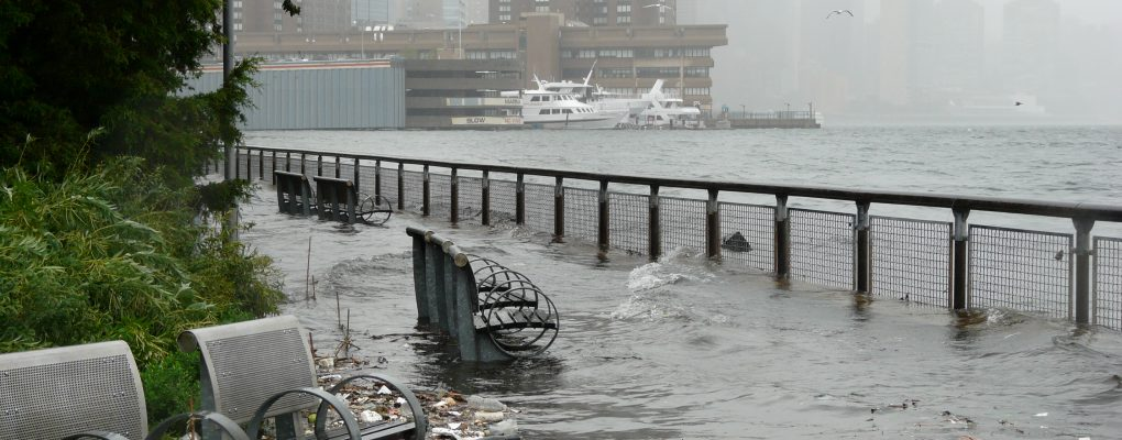 Stuyvesant Cove Flooding from East River surge. Source: NYC Risk Landscape.