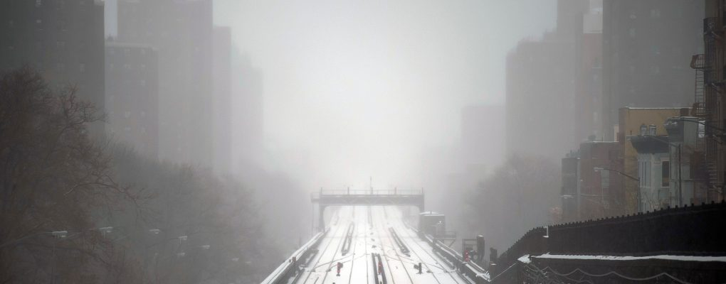 Bridge in the snow. Courtesy of Mayor's Office of Photography.