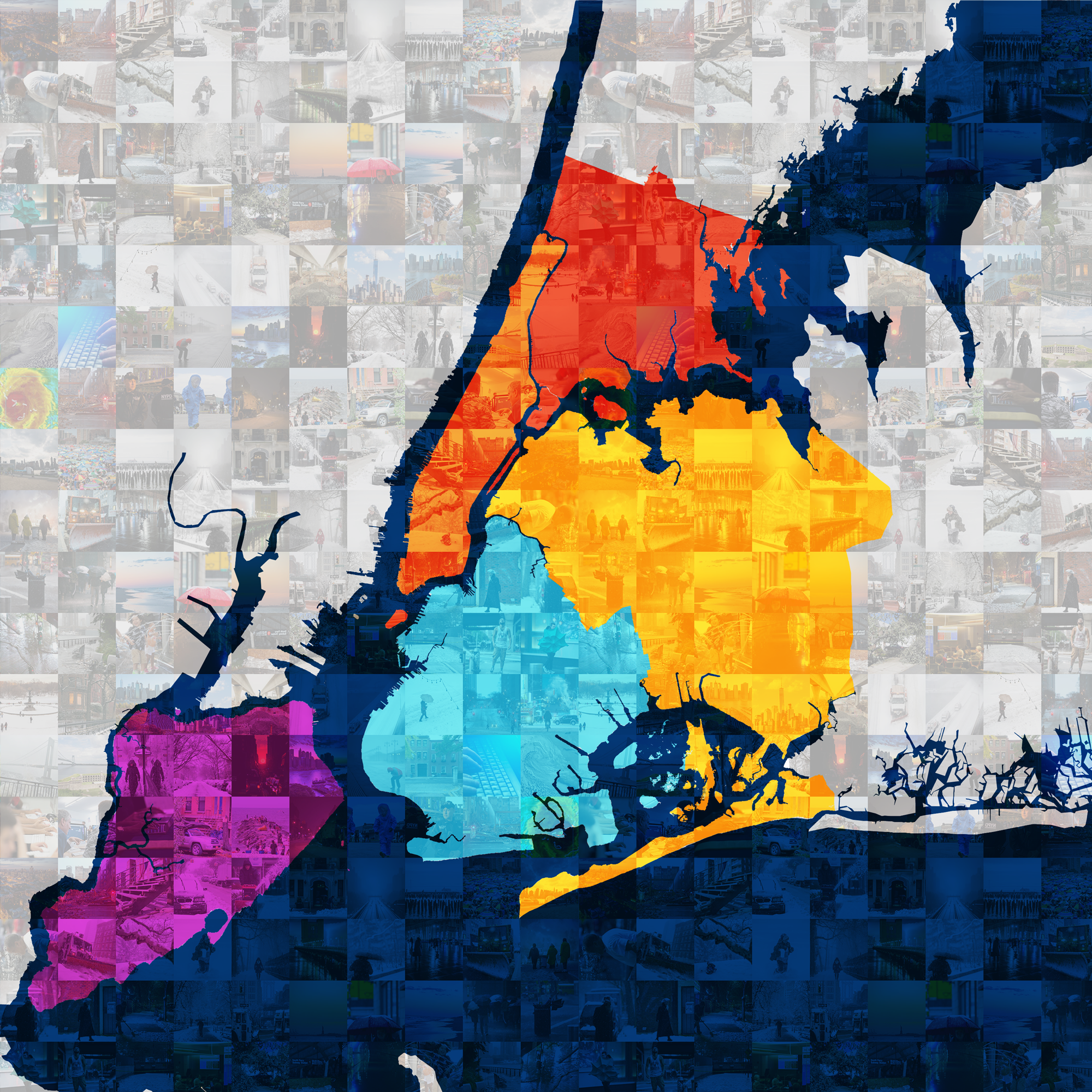 NYC Mosaic Map of All Hazards