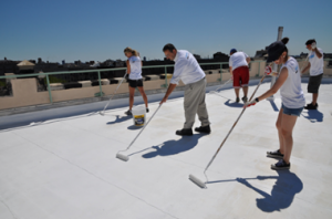 NYC Cool Roofs Program. Courtesy of DOB – Samantha Modell
